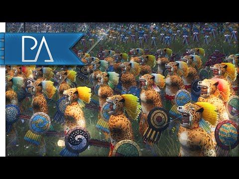 AZTEC INVASION - Medieval 2 Total War Gamplay