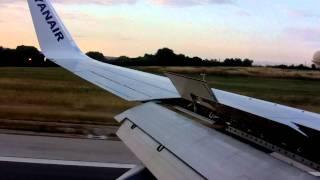 Ryanair 738 Landing Palma de Mallorca
