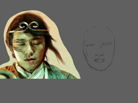 Drawing With Procreate-A Chinese Odyssey (1995) Stephen Chow Movie