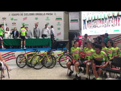 Presentación del Equipo Orgullo Paisa 2017