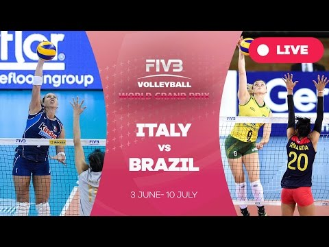 Italy v Brazil - Group 1: 2016 FIVB Volleyball World Grand Prix