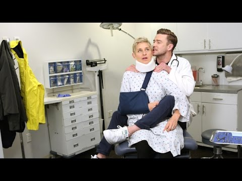 'Strange Doctor' Starring Ellen And Justin Timberlake
