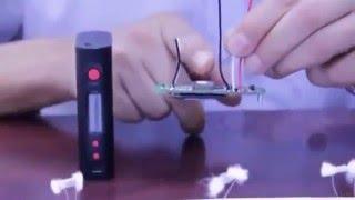 how kanger kbox 120w 200w temp control mod work with ni ti ss and nicr wire
