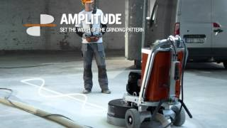 oscillation feature on pg 680 rc and pg 820 rc floor grinders from husqvarna