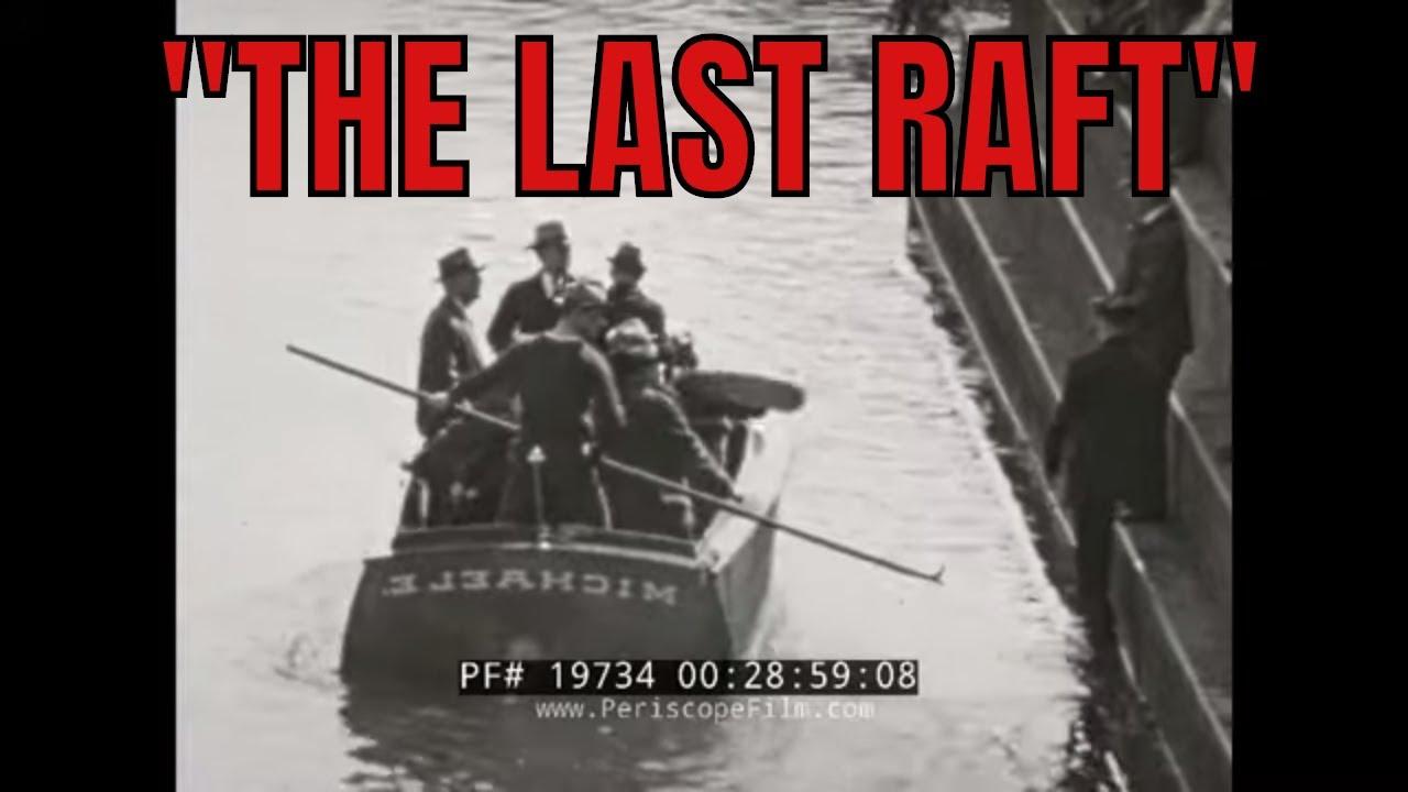 1938 MUNCY, PENNSYLVANIA RAFT CRASH TRAGEDY (SILENT FILM)