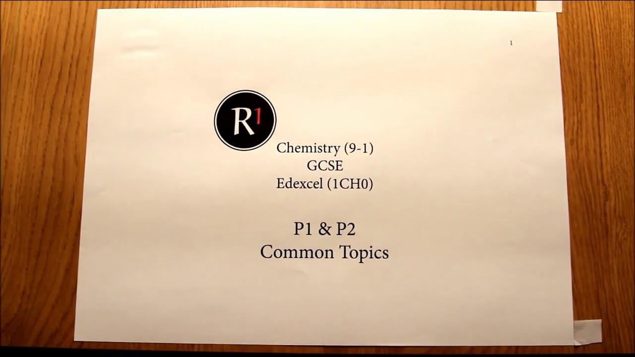 Chemistry Gcse Edexcel The Periodic Table