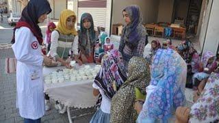 2017 Kur'an Aşıkları Derneği (KA-DER) Eyyübiye Şb. Kız Baklava ve Dondurma İkramı/ŞANLIURFA
