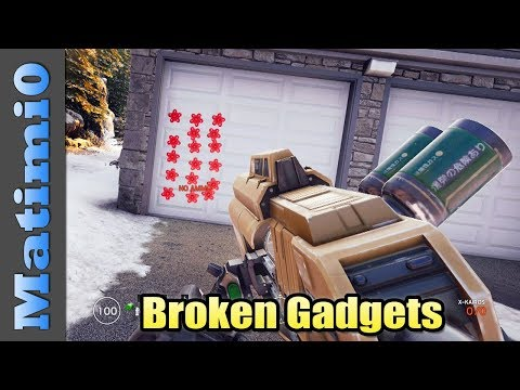 Broken Gadgets - Rainbow Six Siege
