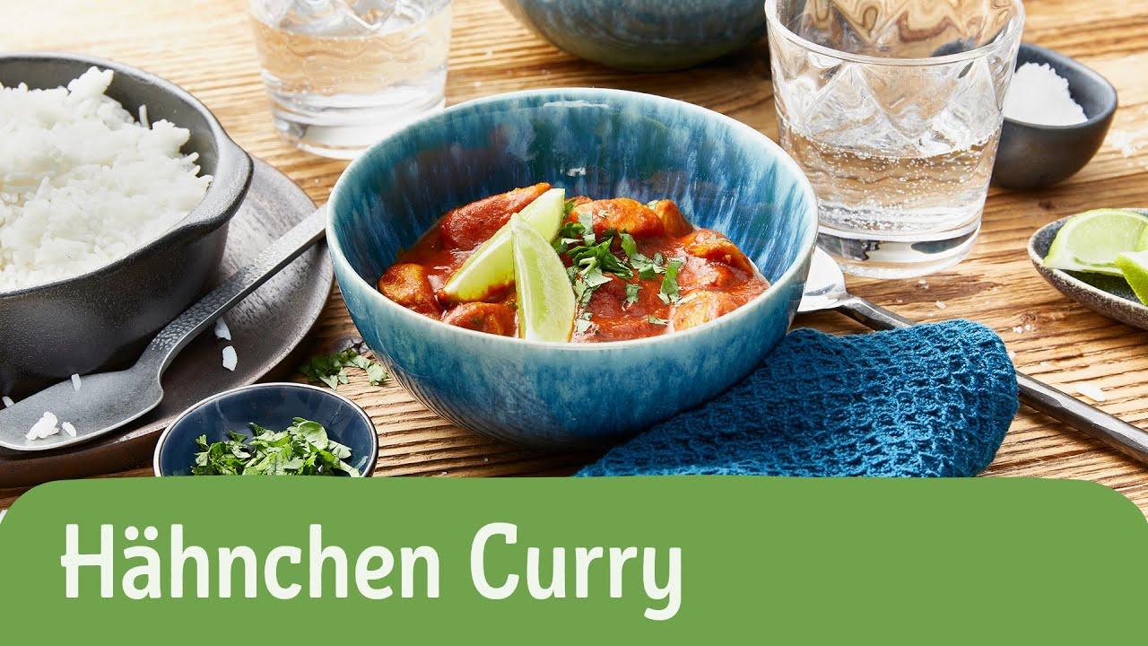 Schnelles Hähnchen Curry   REWE Deine Küche