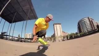 【必見】両脚を失ったプロスケートボーダーの滑走が超クール!