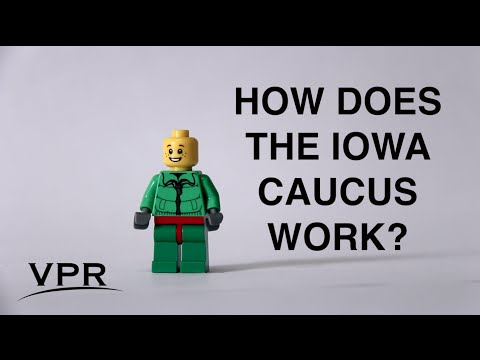 How The Iowa Democratic Caucus Works, Featuring Legos