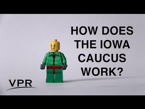 How The Iowa Democratic Caucus Works, Featuring Legos