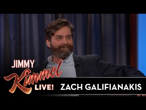 Zach Galifianakis Won't Email After Work Hours