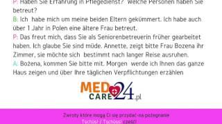 Lekcja 1 - język niemiecki kurs języka niemieckiego Medcare24