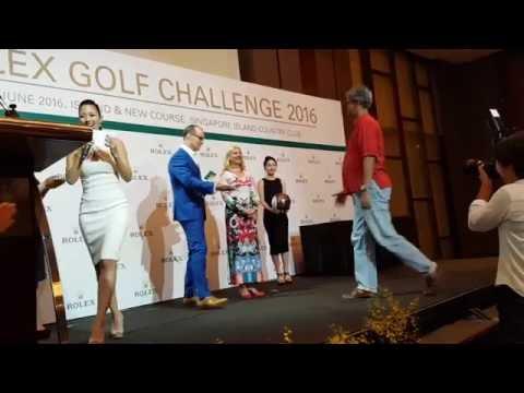 FLY HOSTS: Vanessa Vanderstraaten  Rolex Golf Challenge Dinner 2016