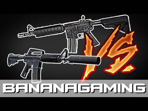 CS:GO - M4a4 Or M4a1-Silencer - Which One Is Best?