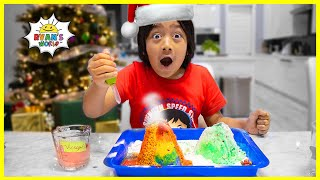 Baking Soda and Vinegar Christmas Tree Easy DIY Science Experiments for kids!