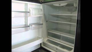 JENN- AIR Refrigerator -  Bottom Freezer, Black Sides, Luxury,    $350.00