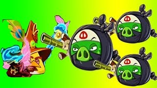 Angry Birds Epic - Blue Bird Vs Ninjas New Event Under The Cloud Of Night   Part 3