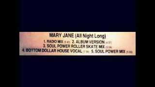 Mary J Blige - Mary Jane (All Night Long) (Bottom Dollar House Vocal)