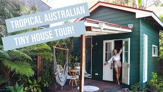 Tiny House Tour | Luxury, Tropical Themed Tiny Home In Australia