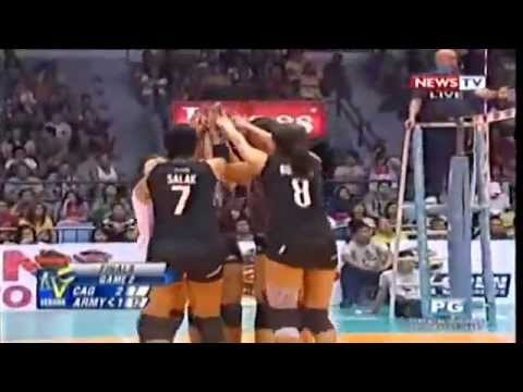 Philippine Army   vs Cagayan Valley  -November 9,2014 [ Set 4 ] Finals Game 2