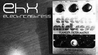 1978 EHX Electric Mistress Flanger Demo