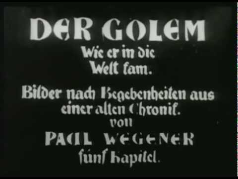 Der Golem: How He Came Into the World (1920) - Paul Wegener