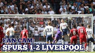 FAN CAM: Tottenham 1-2 Liverpool - Defeat for Spurs at Wembley - 15 September 2018