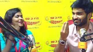 My First Proposal -  Atharva Murali  | Mirchi Hot Talks with Mirchi Ash
