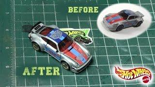 Detailing Hot Wheels Porsche 934 Turbo RSR | Magnus Walker Series