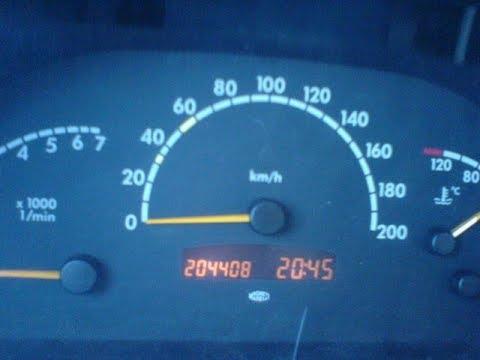 Mercedes vito w638 Не показывает экран щитка приборов.Ремонтируем!