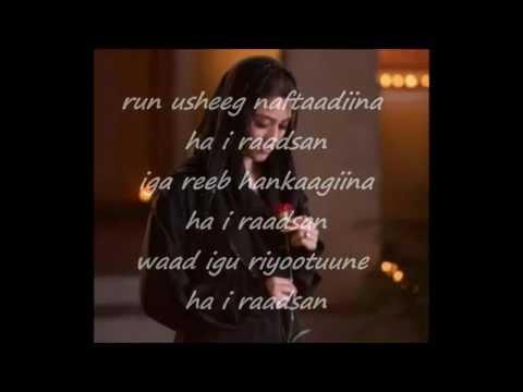ha i raadsan lyrics by codkii mursal muuse 2012 youtube   YouTube