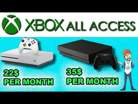 Xbox All Access Is An All In One Xbox One Leasing Service With Monthly Payments - FUgameNews