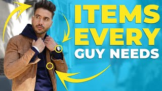 7 Stylish Things Every Man Needs in His Closet   Alex Costa