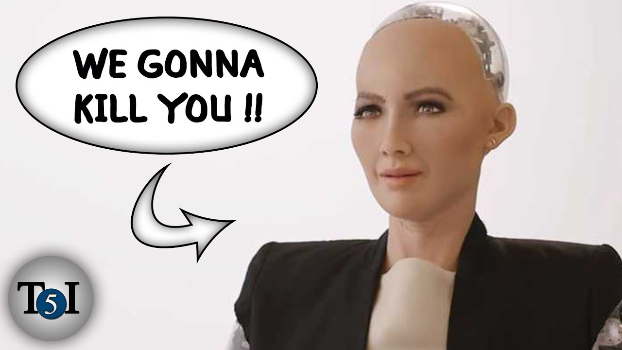 Download 5 Scariest Things said by AI Robots