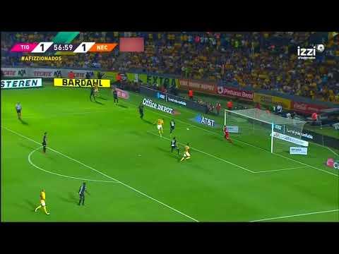 Gol de A. Gignac | Tigres UANL 2 - 1 Necaxa | LIGA Bancomer MX - Clausura 2019 - Jornada 7