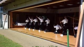 Kyudo (弓道) 橿原市 Nara 2016