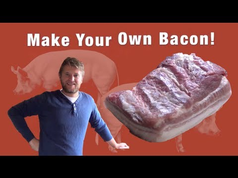 How to make Quick Homemade Bacon