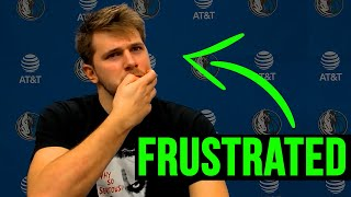 Luka Doncic Is FRUSTRATED! This Is Why