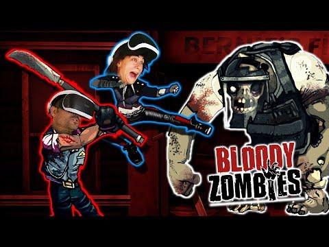 BEAT 'EM UP EN REALIDAD VIRTUAL | Bloody Zombies (PSVR)