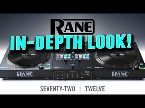 THOROUGH! Rane 72 and Twelve Mixer and Turntable Controller Walkthrough