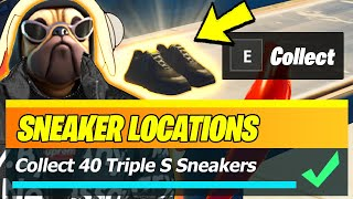 Collect Triple S Sneakers in The Strange Times Featured Hub (ALL 40 LOCATIONS) - Fortnite