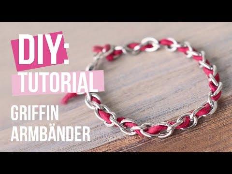 Schmuck machen: Griffin Armbänder mit Jasseron ♡ DIY