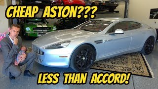 I Bought the Cheapest Aston Martin Rapide in the USA! Less Than a New Honda Accord?