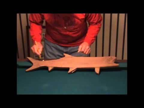 Folk Art Fish Replica Tutorial. Part 2
