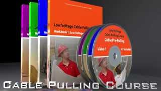 Cable Pulling Course: Video Training, Workbook & Exam Package - Download Today