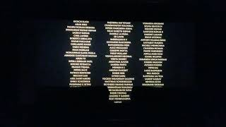 The lion king 2019 end credits