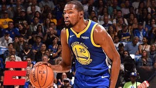 Kevin Durant drops 33 points vs. the Timberwolves in Warriors' win    NBA Highlights
