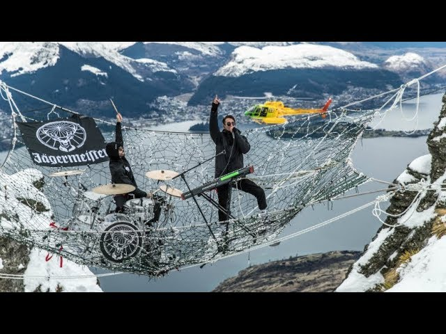 Jägermeister Ice Cold Gig 2017: Modestep Perform World's Greatest Gig In The Sky - #JagerIceCold
